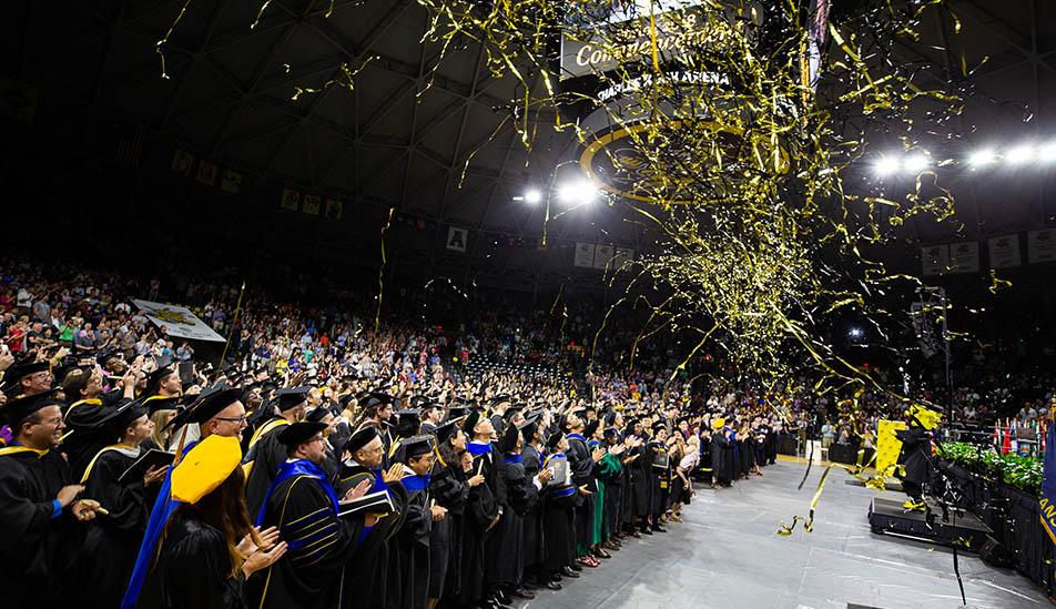 Wichita State University 2019 Graduation Ceremony