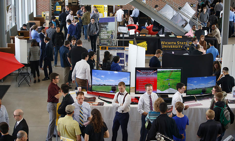 Wichita State students explore College of Engineering open house