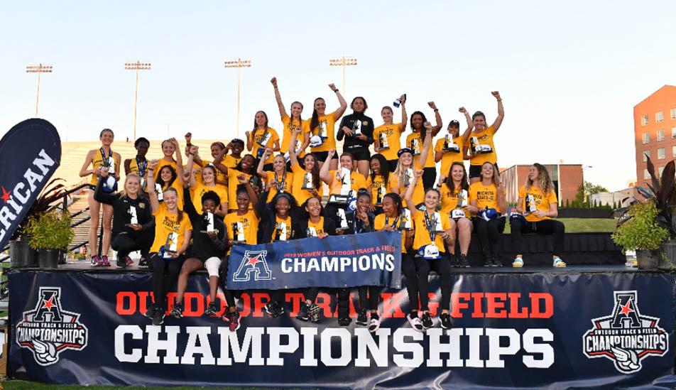 Wichita State University Women's Track 2019 Champions