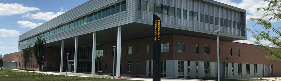Wichita State University John Bardo Center, home to several College of Engineering laboratories and Go Create