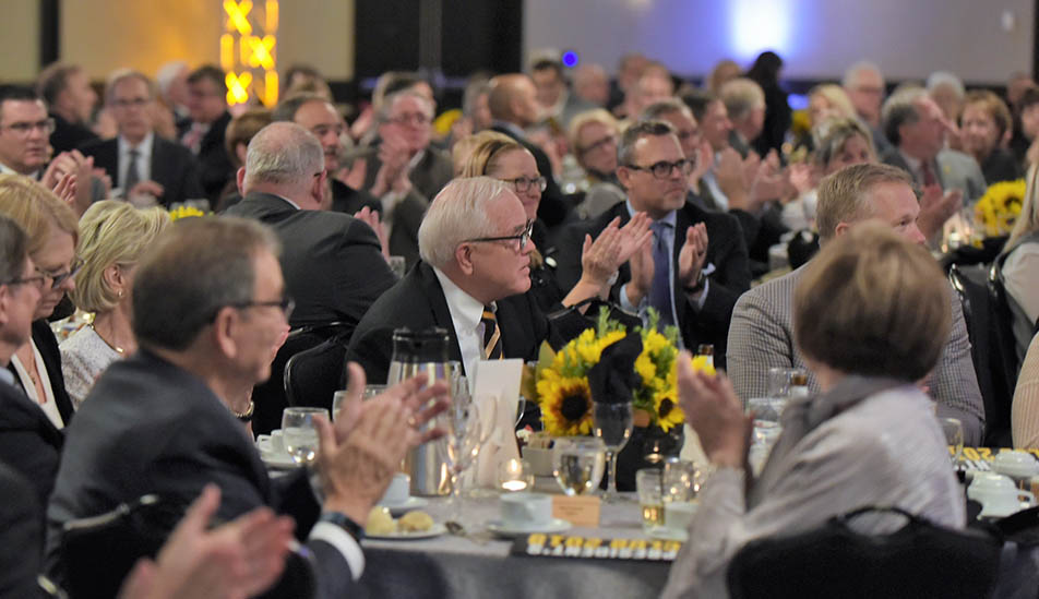 Wichita State University President's Club members at the annual dinner celebration