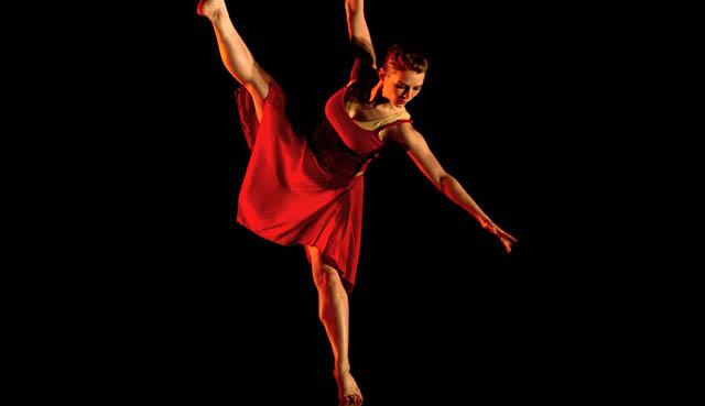 Wichita State Dance Student performing