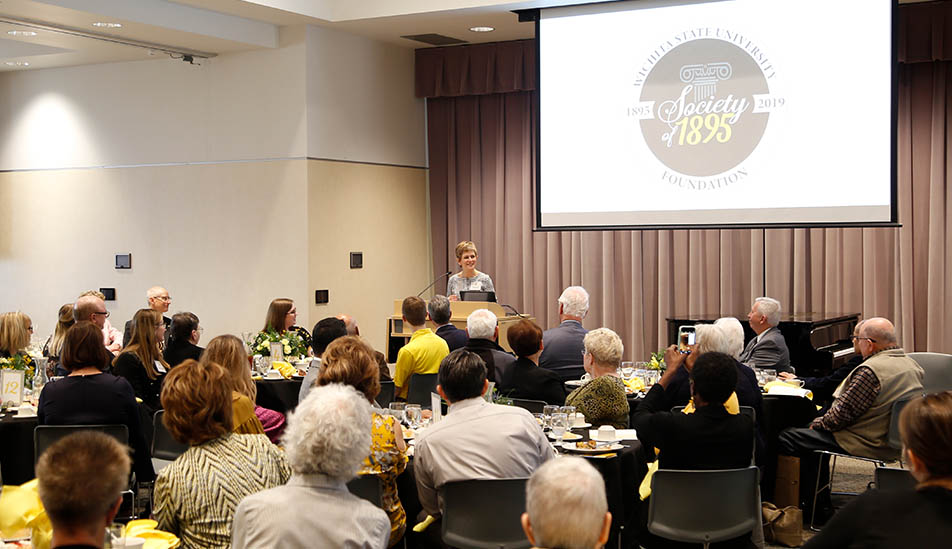 Wichita State University Foundation's Society of 1895 member recognition celebration