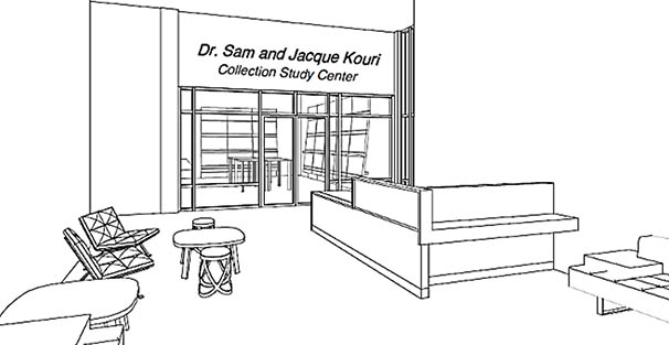 the Dr. Sam and Jacque Kouri Collection Study Center